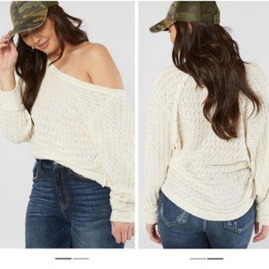 Free People Thiens Hacci Sweater. (VM)